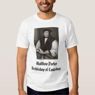 Matthew Parker, Archbishop of Canterbury, Matth... Shirt