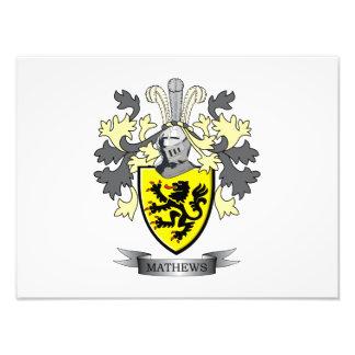 Matthews Family Crest Coat of Arms Photo
