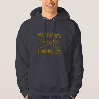 Matthew's Logging Company Hoodie