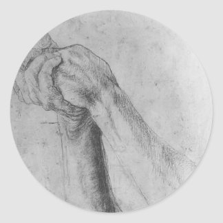 Matthias Grünewald: Upper Arm Study Sticker