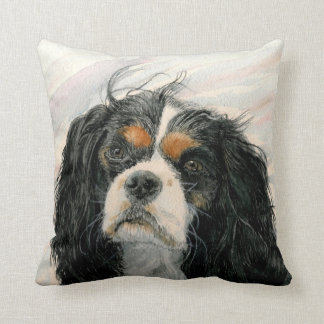 Mattie the King Charles Cavalier Spaniel Cushion