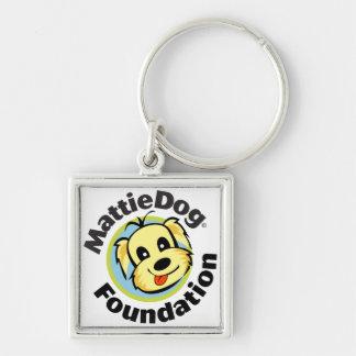 MattieDog Foundation Keychain