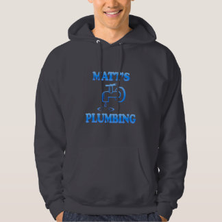 Matt's Plumbing Hoodie