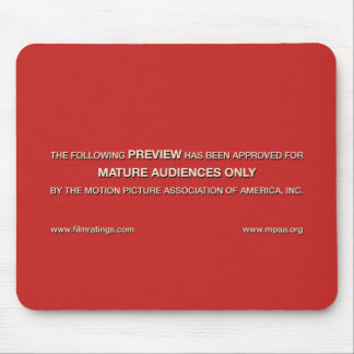Mature audiences only mouse pad