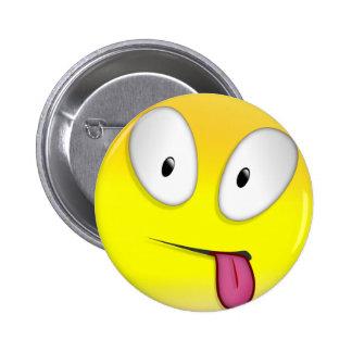 Maturity Smilie 6 Cm Round Badge