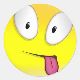 Maturity Smilie Round Sticker