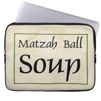 Matzah Ball Soup Laptop Sleeve