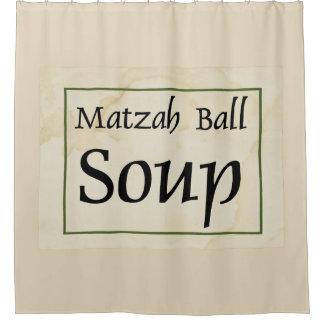 Matzah Ball Soup Shower Curtain