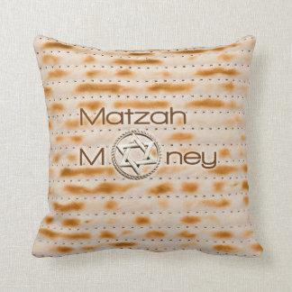 Matzah Money Pillow