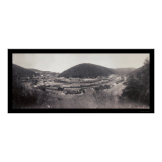 Mauch Chunk PA Lehigh Photo 1896 Poster