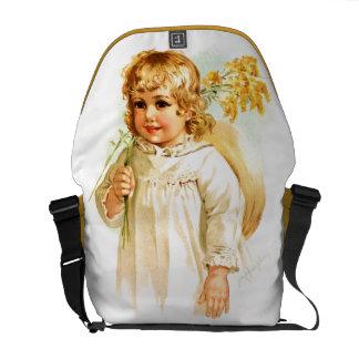 Maud Humphrey: Autumn Girl with Golden Rod Commuter Bag