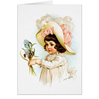 Maud Humphrey: French Child Card