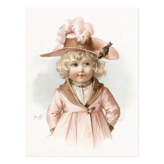 Maud Humphrey's Autumn Girl Postcard
