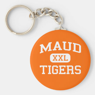 Maud - Tigers - Maud High School - Maud Oklahoma Key Ring