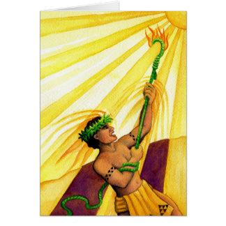 Maui and the Sun Card
