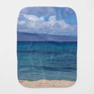 Maui Beach Burp Cloth