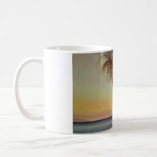 maui beach palm trees Hawaii Coffee Mug