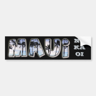 Maui Bumper Sticker