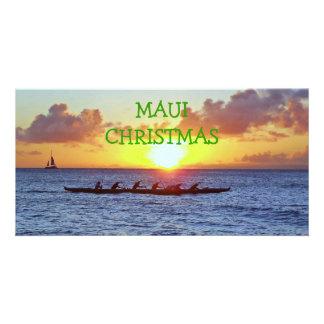 """""""MAUI CHRISTMAS""""  PHOTO CARD"""