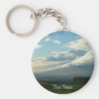 Maui, Hawaii Basic Round Button Key Ring
