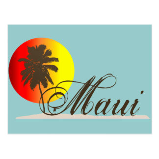 Maui Hawaii Souvenir Postcard