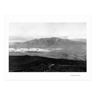 Maui, Hawaii - View from the Top of Haleakala Postcard