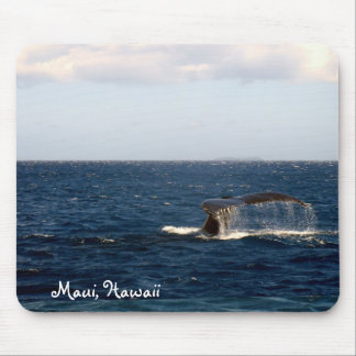 Maui Hawaii Whale Watching Mouse Pad