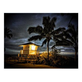 Maui Lifeguard Tower Postcard