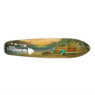 Maui Longboards Woody Longboard Skateboard