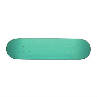 Maui Mint Green Seafoam Custom Skate Board