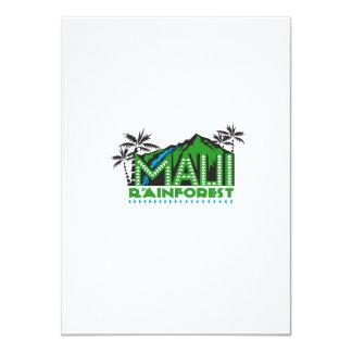 Maui Rainforest Retro 11 Cm X 16 Cm Invitation Card