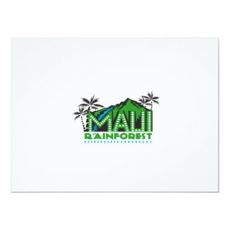 Maui Rainforest Retro Card