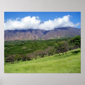Maui Slopes 1 Poster