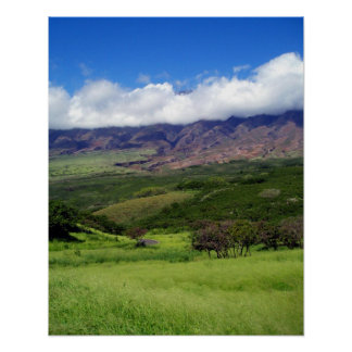Maui Slopes 2 Poster