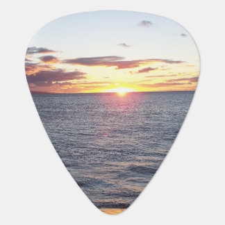 Maui Sunset Guitar Pick