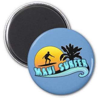 Maui Surfer Magnet