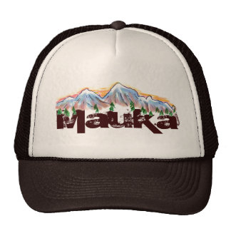 Mauka toward the mountains hawaiian hat