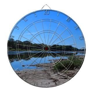 Maumee River Bedrock I Dartboard With Darts