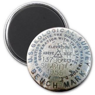 Mauna Kea Benchmark 6 Cm Round Magnet