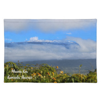 Mauna Kea with Snow Placemat
