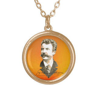 Maupassant Gold Plated Necklace