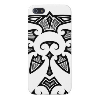 Mauri tribal tattoo with koru patterns iPhone 5 cover