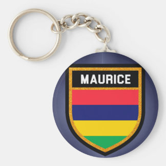 Maurice Flag Key Ring