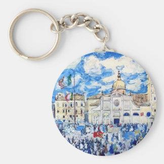 Maurice Prendergast- Campo Santa Maria Formosa Key Ring