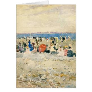Maurice Prendergast- Revere Beach Card