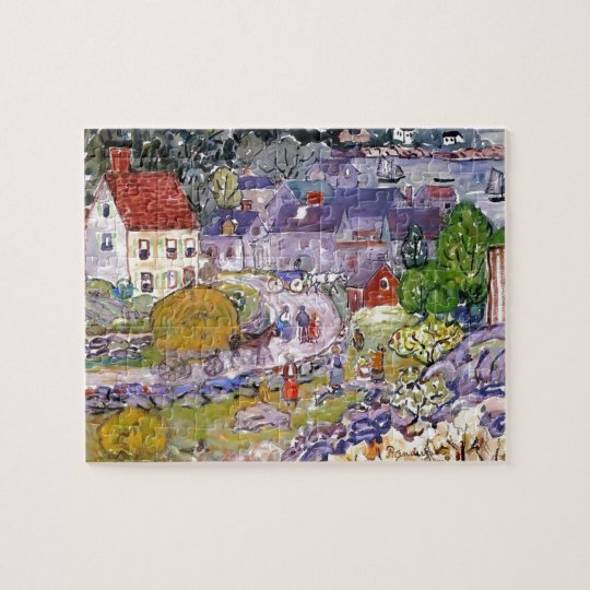 Maurice Prendergast- The Hay Cart Jigsaw Puzzle