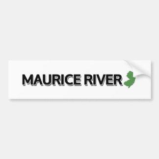 Maurice River, New Jersey Bumper Sticker