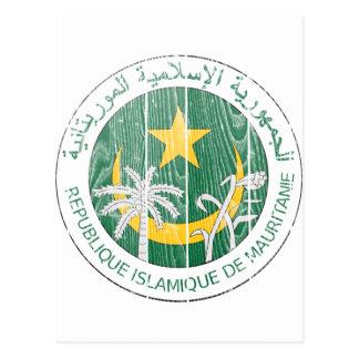 Mauritania Coat Of Arms Postcard