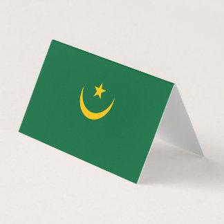Mauritania Flag Card