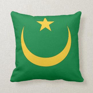 Mauritania Flag Pillows